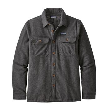 PATAGONIA MEN'S INSULATED FJORD FLANNEL JACKET