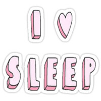 SALE - I Love Sleep