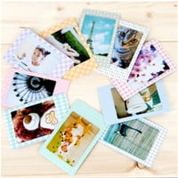 Pastel Instax Mini Film Frame Sticker Set v2