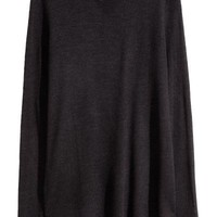 Fine-knit jumper - Black - | H&M GB