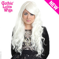 Gothic Lolita Wigs®  Classic Wavy Lolita™ Collection - White -00495