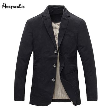 Free Shipping 2018 New Blazer Jacket Male Slim Fashion Men's Fashion Personality Flat Coat High Quality D105