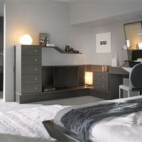 WOODEN TEENAGE BEDROOM NUVOLA 14 | FAER AMBIENTI BY GRUPPO LUBE