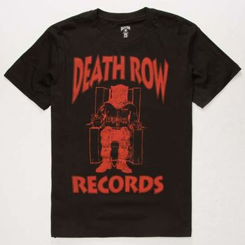 DEATH ROW RECORDS Logo Mens T-Shirt | Graphic Tees