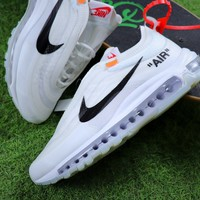 Best Online Sale The 10 : OFF WHITE x Nike Air Max OG UL 97 White Bullet Sport Running Shoes Sneaker
