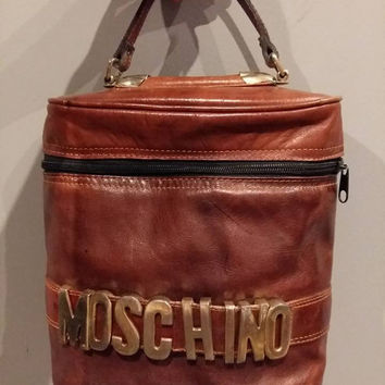 Moschino vintage cosmetic bag