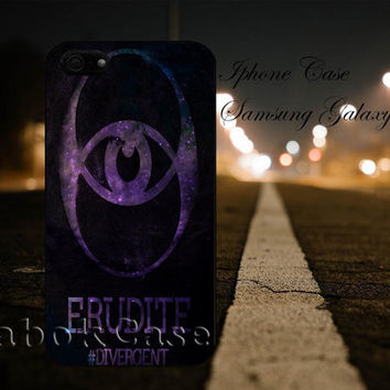 Divergent Erudite Faction Nebula For - iPhone 4 4S iPhone 5 5S 5C and Samsung Galaxy S3 S4 S5 Case