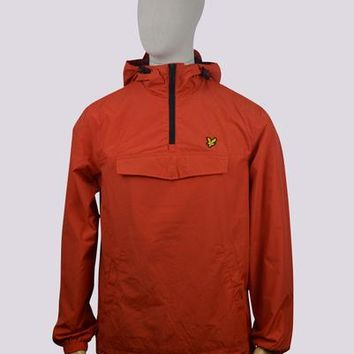 Lyle & Scott Pull Over Anorak - Flame Red