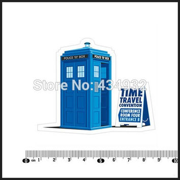 Min.order is 10 (mix order )Exclusive selling doctor who Doctor waterproof stickerNotebook Car Styling Laptop Stickers [Single]