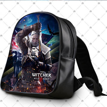 the wild hunt witcher 3 School Bag