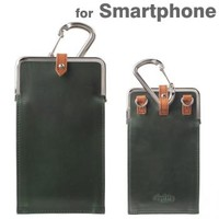 Strapya World : Agility affa Corege Chromexcel Leather Smartphone Case (Chromexcel / Gtreen)