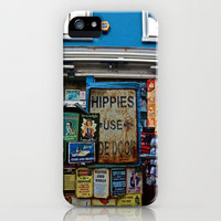 Hippies Use The Side Door iPhone Case by JuliHami | Society6