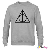 Deathly Hallows_ Crewneck sweatshirtt