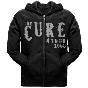 The Cure - Logo 2008 Tour Zip Hoodie