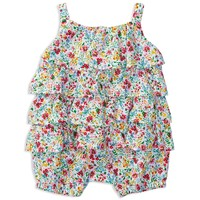 Ralph Lauren ChildrenswearInfant Girls' Tiered Bubble Shortall - Sizes 3-12 Months