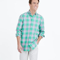 Reef Plaid Tucker Shirt