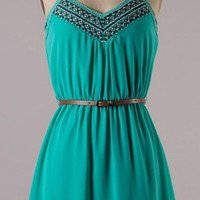 Wanderlust Dress - Green