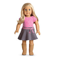 American Girl® Dolls: Light skin, light blond hair, blue eyes