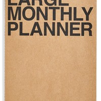 Poketo Large Monthly Planner