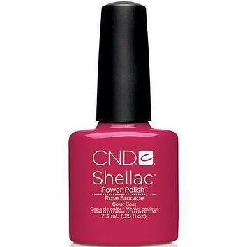 CND - Shellac Rose Brocade (0.25 oz)