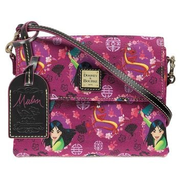 Disney Dooney & Bourke 20th Anniversary Mulan Crossbody Bag New with Tags