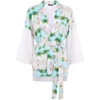 This Is A Love Song Tokyo Pyramid Print Kimono