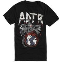 A Day To Remember ADTR Reaper Globe T-Shirt