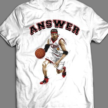 76ER'S ALLEN IVERSON THE ANSWER T-SHIRT