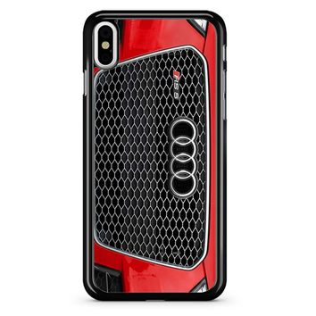 Audi Rs Red iPhone X Case