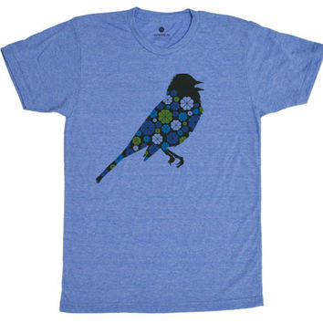 Pattern Birdie TriBlue T-Shirt