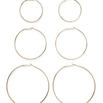Hoop Earring Set - Jewelry - 1000197974 - Forever 21 EU English