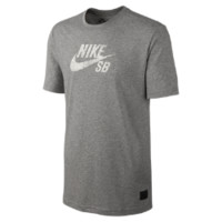 Nike SB Dri-FIT Icon Speckle Men's T-Shirt - Dark Grey Heather