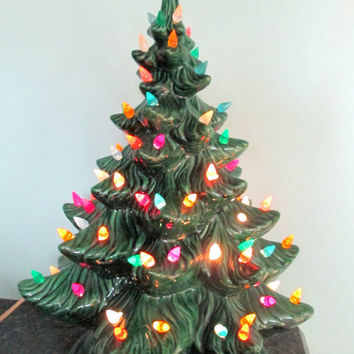 Best Vintage Ceramic Christmas Trees Products on Wanelo