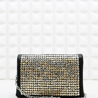 Deena & Ozzy Embellished Cross Body Bag in Black - Urban Outfitters