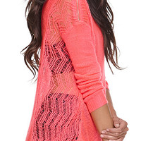 Kendall and Kylie High Low Pullover Sweater at PacSun.com