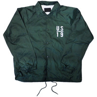 Live Through The Decades coaches jacket Green