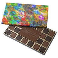 Color palette 45 piece box of chocolates