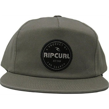 Rip Curl Men's Daily Snapback Hat, Khaki, One Size