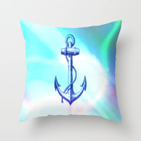 save me Throw Pillow by Laura Santeler