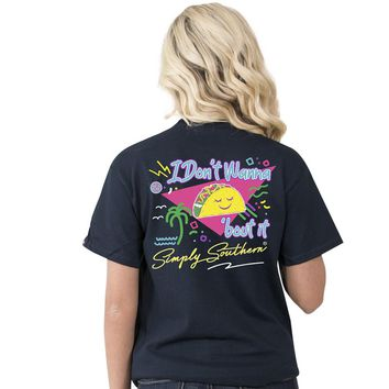 "Simply Southern ""Preppy Taco"" Short sleeve tee"