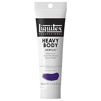 Liquitex Professional Heavy Body Acrylic Paint 2-oz tube, Prism Violet