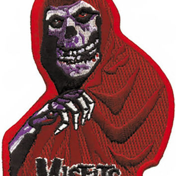 Misfits Iron-On Patch Red Crimson Ghost Logo
