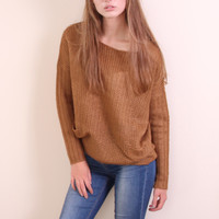 Golden Sunset Sweater