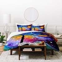 Madart Inc. Winter Sparkle Duvet Cover