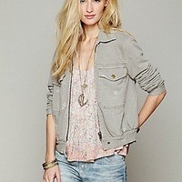 Free People Clothing Boutique > Knit Bomber Jacket