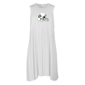 Official NCAA North Carolina at Charlotte - PPNCC06 Women's Sleeveless Spandex Pleat Dress