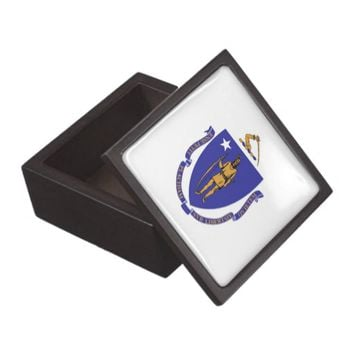 Massachusetts State Flag Premium Gift Box