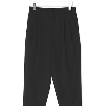 Leisure Crop Wool Pants