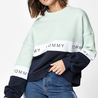 Tommy Hilfiger Colorblock Sweatshirt at PacSun.com