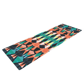 "Akwaflorell ""Triangle Visions"" Yoga Mat"